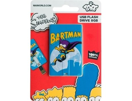 Pen USB TRIBE USBCard Simpsons Bartman 8GB — 8 GB / USB 2.0