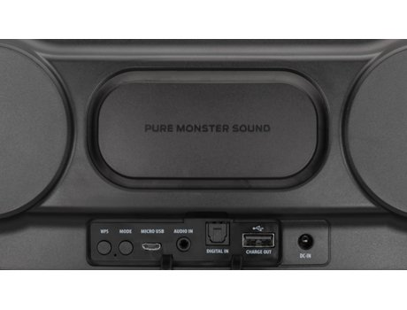 Coluna Multiroom MONSTER S1 — Bluetooth, Wi-fi | 4x60 W