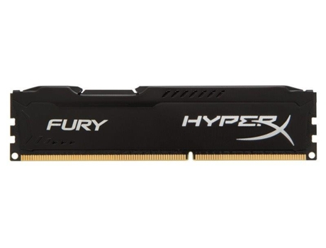 Memória RAM DDR3 8GB 1866 MHz CL10 HyperX FURY Black Series — 8 GB | 1866 MHz | DDR3