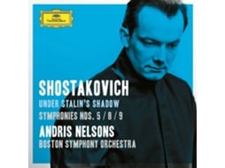 CD Andris Nelsons/Boston Symphony Orchestra - Shostakovich Under Stalin's Shadow — Clássica