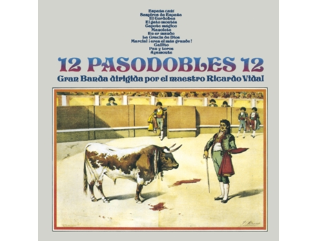 CD Vários - 12 pasodobles 12 — Pop-Rock