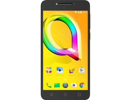 Smartphone ALCATEL A5 LED 16GB Preto — Android 7 / 4G / 5.2'' /  OCTA CORE 1.5