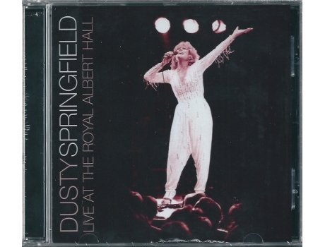CD Dusty Springfield - Live At The Royal Albert Hall