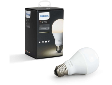 Lâmpada PHILIPS Hue Branca A60 E27 — Smart Lighting | 9.5 W