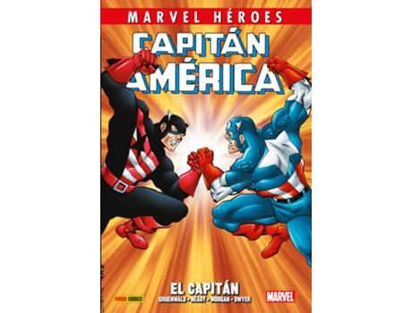 PANINI COMICS - Livro Capitán Amèrica 2 de Mark Gryenwald (Espanhol)