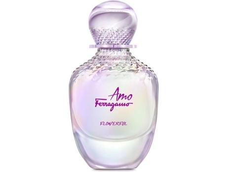 Perfume Mulher Amo Flowerful Salvatore Ferragamo EDT - 30 ml