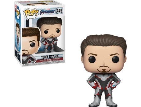 Figura FUNKO Pop Marvel Avengers Endgame Iron Man Team Suit