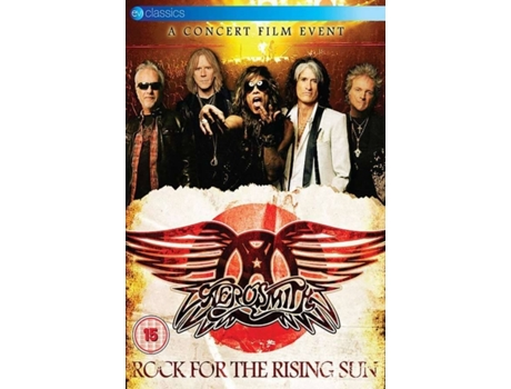 CD+DVD Aerosmith - Rock For The Rising Sun — Pop-Rock