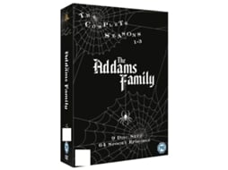 DVD Addams Family: The Complete Seasons 1-3 Inglês