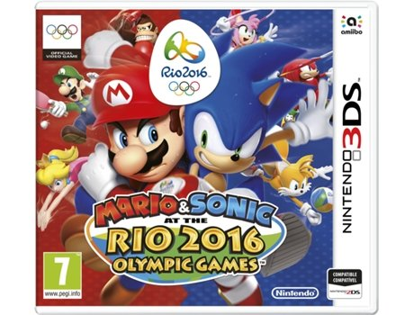 Jogo Nintendo 3DS Mario & Sonic at the Rio 2016 Olympic Games