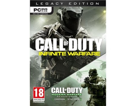 Jogo PC Call of Duty - Infinite Warfare Legacy Edition — FPS / Idade mínima recomendada: 18