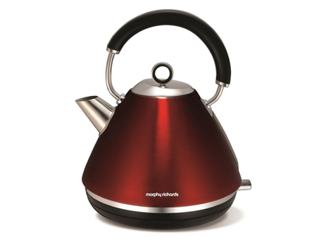 Chaleira MORPHY RICHARDS accents red 102004 — 2200 W / 1,5 L