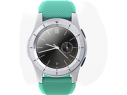 Smartwatch NO.1 G8 Branco, Verde — Bluetooth 4.0 | 300 mAh | Android e iOS