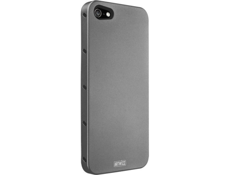 Capa ARTWIZZ Aluminio Titan iPhone 5, 5s, SE Cinzento — Compatibilidade: iPhone 5, 5s, SE