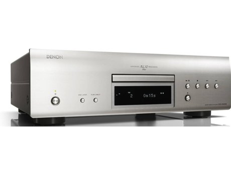 Leitor CD DENON DCD-1600NE Prata — Formatos: CD, SACD, MP3, WMA