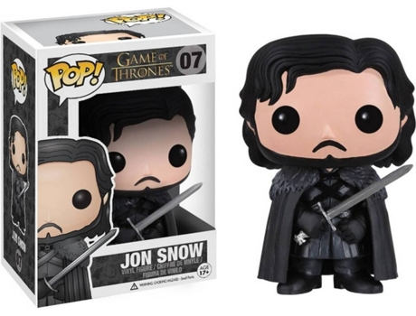 Figura Vinil FUNKO POP! Game of Thrones: Jon Snow — Game Of Thrones