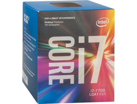 Processador Intel Core I7-7700 3.6GHZ 8MB Skt LGA 1151 Kabylake — Intel Core I7-7700 / 3.6Ghz