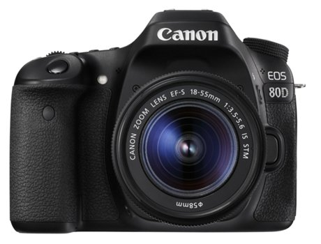 Kit Máquina Fotográfica Reflex CANON 80D + EFS18-55 IS STM (24.2 MP -  Sensor  APS-C - ISO  100 a 16000) 8ce641bc900e
