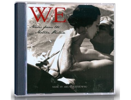 CD W.E - Music from the Motion Picture (OST) — Banda Sonora