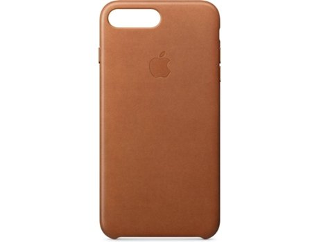 Capa APPLE iPhone 7 Plus, 8 Plus Leather Castanho — Compatibilidade: iPhone 7 Plus, 8 Plus