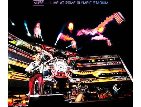 CD+DVD Muse - Live at Rome Olympic Stadium — Pop-Rock