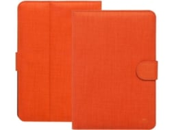 Capa 10.1'' RIVACASE Biscayne 3317 em Laranja — Para Acer Iconia Tab A3-A30 | Apple iPad Air 2 | Asus ZenPad 10 Z300C | Lenovo TAB 2 A10-70L | Samsung Galaxy Tab S2 | Sony Xperia Z4 Tablet