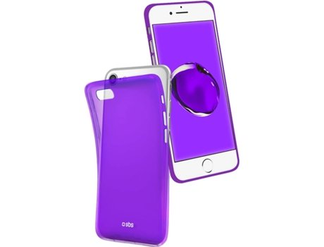 Capa SBS Cool Apple iPhone 6, 6s, 7, 8 Roxo — Compatibilidade: iPhone 6, 6s, 7, 8