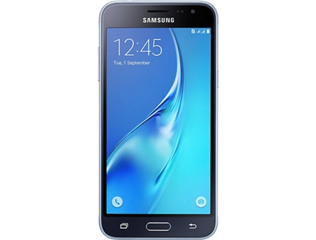 Smartphone VODAFONE SAMSUNG Galaxy J3 2016 8 GB Preto — Android 5.1 | 5.0'' | Quad core 1.2 GHz | 1.5 GB RAM