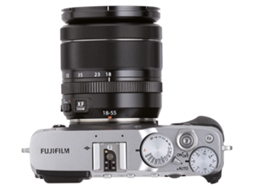 Máquina Fotográfica Mirrorless FUJIFILM X-E3 + XF 18-55mm (24.3 MP - Sensor: APS-C - ISO: 100 a 51200) — 24,3 MP | ISO: 100-51200
