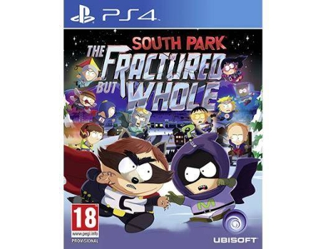 Jogo PS4 South Park: The Fractured But Whole — RPG | Idade mínima recomendada: 18