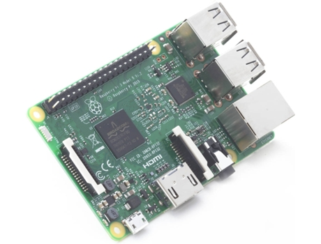 RASPBERRY-PI PI3B+ (ARM Cortex A53 - 1 GB RAM - Videocore IV) — ARM Cortex | 1 GB | Sem Disco
