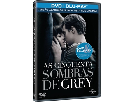 DVD + Blu-Ray As 50 Sombras de Grey — Do realizador Sam Taylor-Johnson