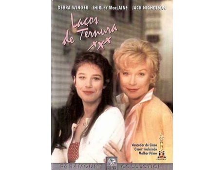 DVD Laços de Ternura — De: James L. Brooks | Com: Debra Winger, Shirley MacLaine