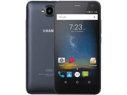 Smartphone UHANS H5000 32 GB Preto — Android 6.0 | 5'' | 4G | MTK6737 Quad Core 1.3GHz