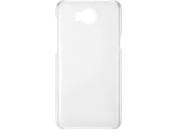 Capa HUAWEI Y7 2018 Back Cover Transparente — Compatibilidade: Huawei Y7 2018
