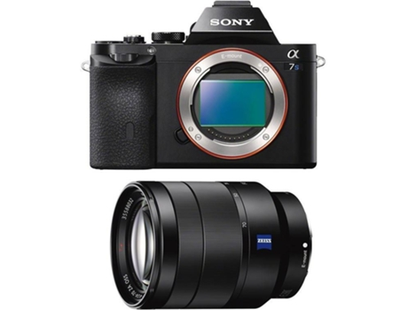 Kit Máquina Fotográfica Mirrorless SONY A 7 S + FE 24-70 f/4 ZEISS