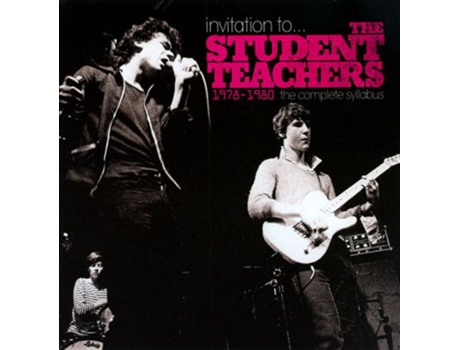 CD The Student Teachers - Invitation To... The Student Teachers: 1978 - 1980 - The Complete Syllabus