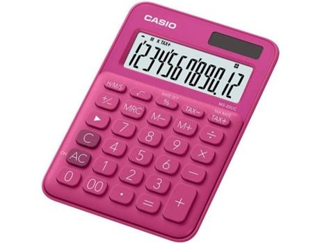 Calculadora Básica CASIO MS-20UC-RD | [6595730 ]