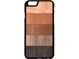 Capa G-CODE iPhone 7 Artworks Multiwood — Compatibilidade: iPhone 7