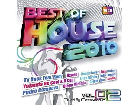 CD Vários-Best Of House 2010 Vol.2 - Mixed By Massivedrum — House / Electrónica