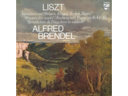 Vinil Alfred Brendel - Liszt: Fantasia and Fugue on Bach — Clássica