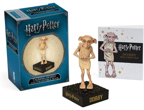 Livro Harry Potter Talking Dobby And Book de Mini Kits