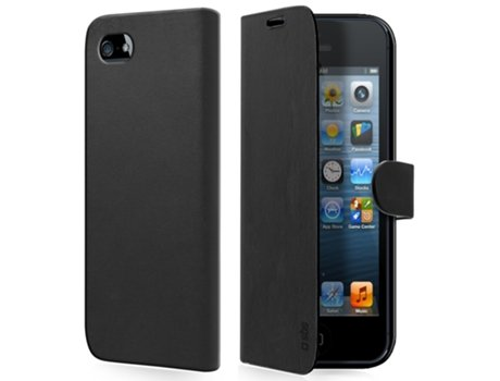 Capa Book SBS p/ iPhone 5/5S Preto — Capa / Apple / iPhone 5/5S
