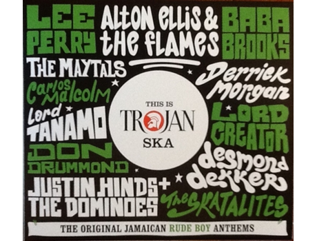 CD This Is Trojan Ska (The Original Jamaican Rude Boy Anthems)