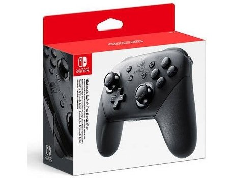 Comando Nintendo Switch Pro + Cabo USB — Nintendo Switch