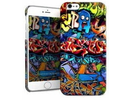 Capa I-PAINT Hard iPhone 8 / iPhone 7 Graffiti — Capa / iPhone 8 / iPhone 7