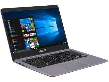 Portátil 14'' ASUS S410UN — Intel Core i5-8250U | 8 GB | 256GB SSD | NVIDIA GeForce MX150 GDDR5 2GB