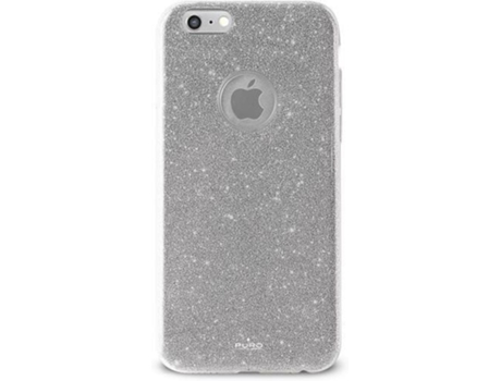 Capa PURO Shine iPhone 6, 6s Prateado — Compatibilidade: iPhone 6, 6s
