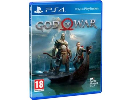 Jogo PS4 God of War - PS Hits (Ação - M18) | [7031946 ]