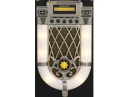 Jukebox Bluetooth RICATECH RR950 — Velocidade: 33-45-78 rpm
